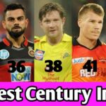 Fastest Century In IPL History ! Fastest Hundred (100) In IPL T20