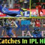 Best Catches In IPL History | Top 10 catches in Indian Premier League